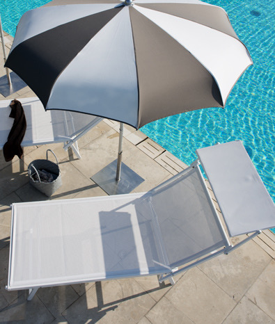 Relax en aluminium VIP - Grande taille - Gasparini Collection