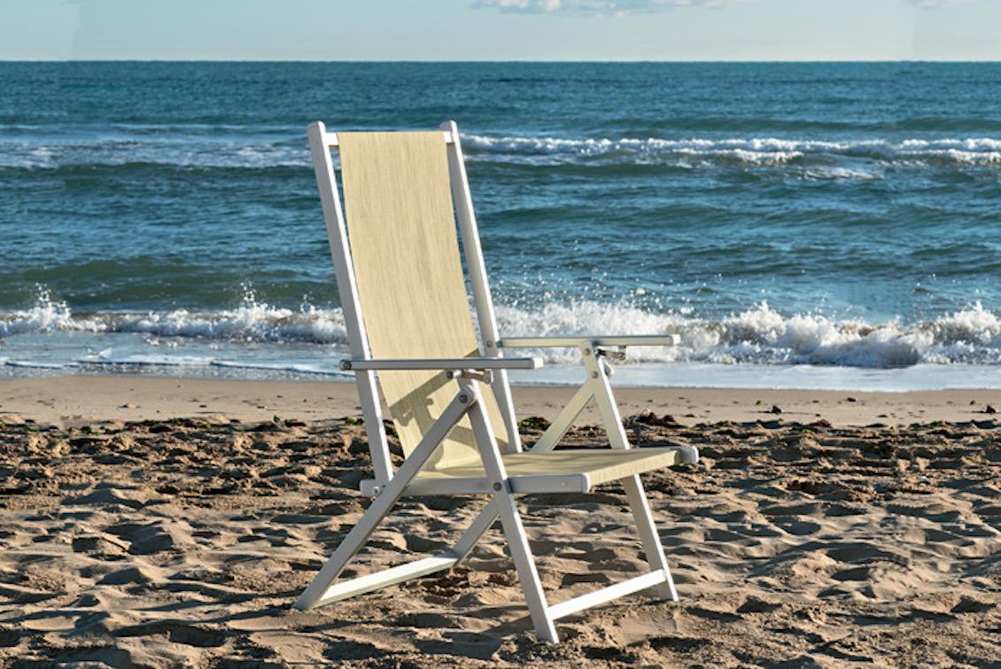 Chaise pliante en aluminium - Gasparini Collection