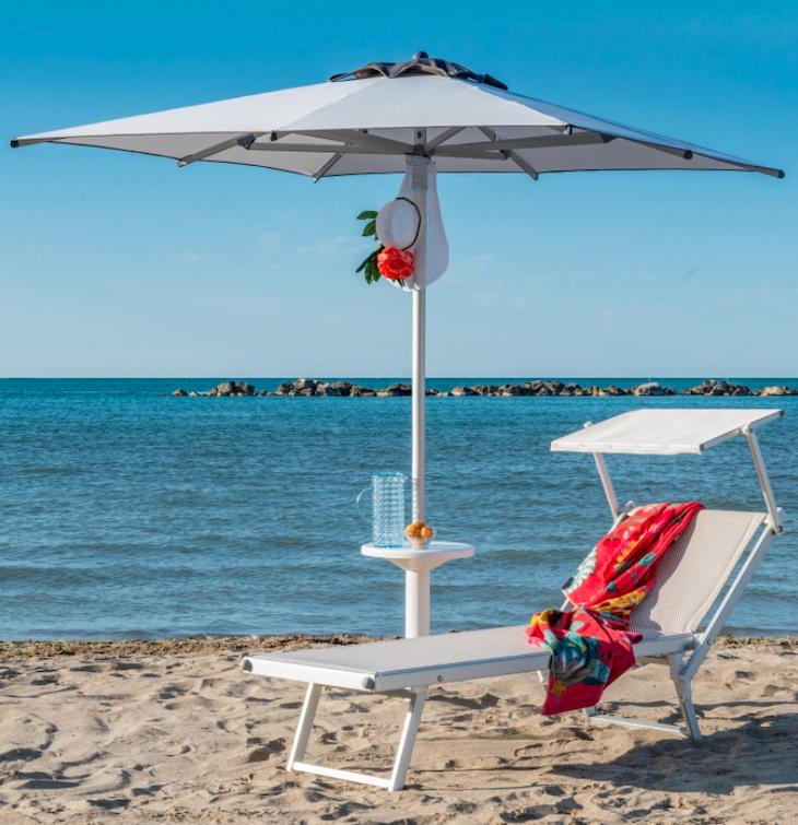 Parasol en aluminium Picasso Beach - Gasparini Collection