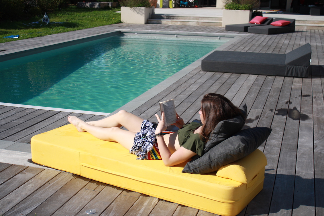 Pool Bed Jaune - gasparinicollection.com