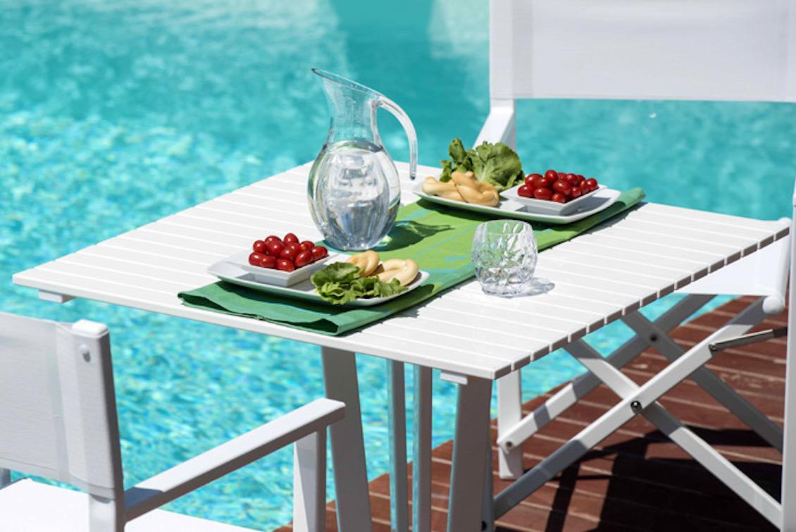 Table en aluminium outdoor - Gasparini Collection