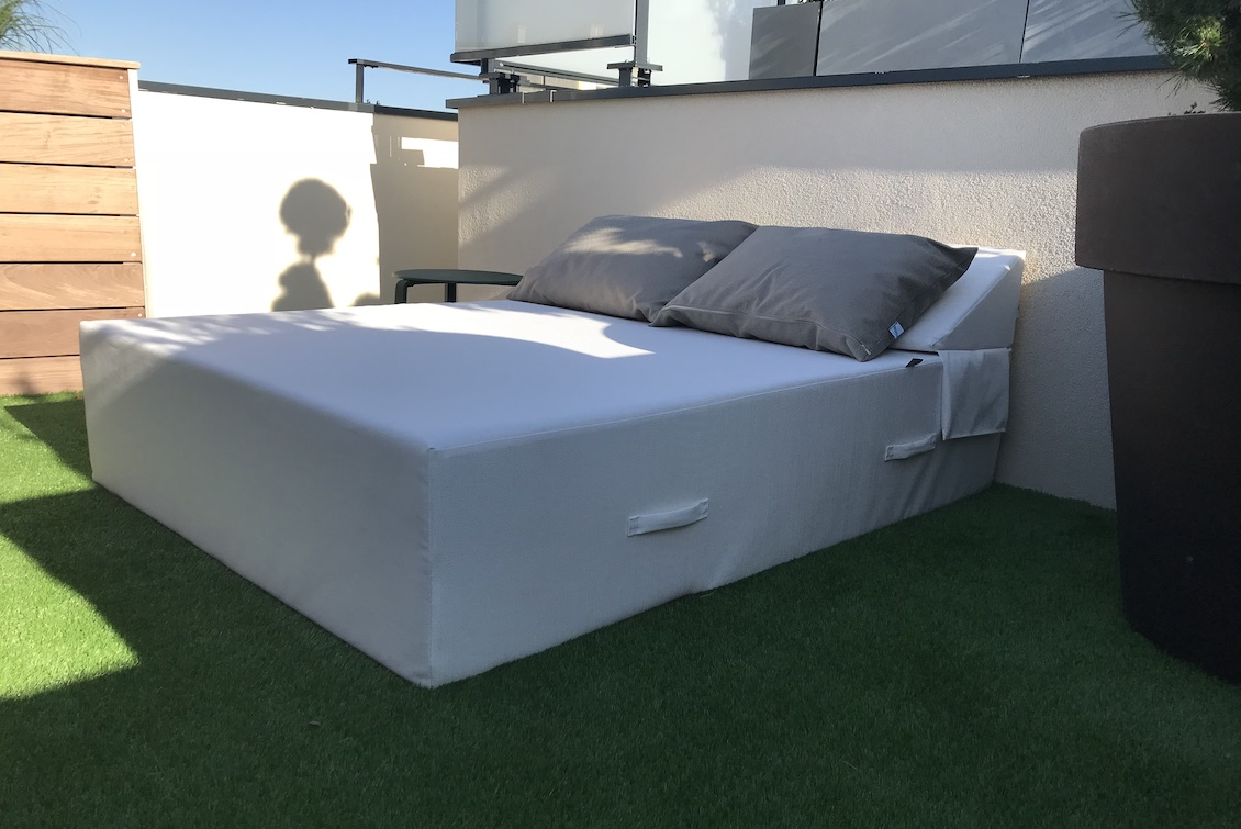 Bed 2 personnes Paloma - gasparinicollection.com