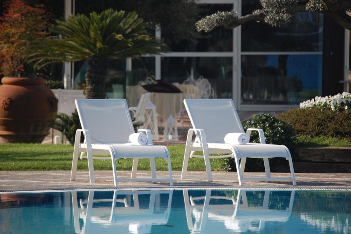 Bain de soleil Riviera avec bras - gasparinicollection.com