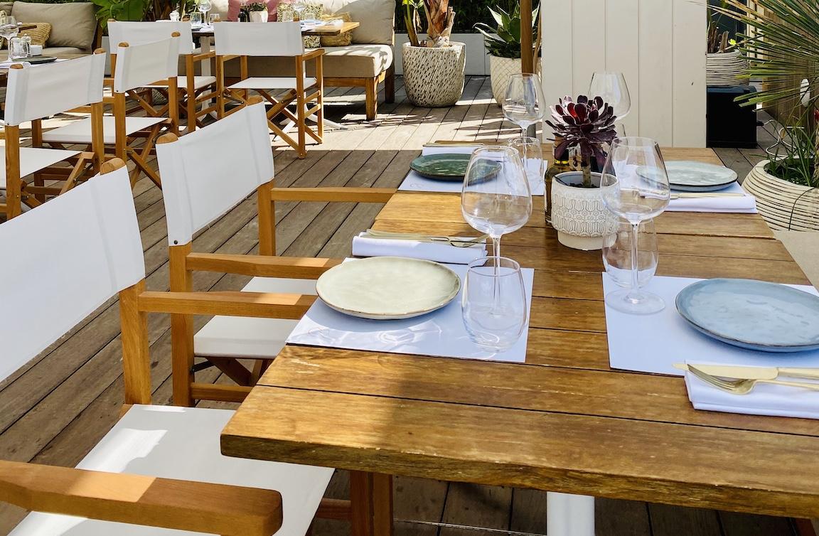 Chaise metteur en scène en bois de Frêne - gasparinicollection.com