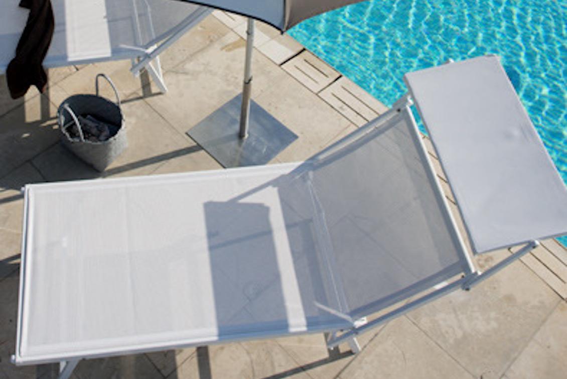 Bain de soleil haut de gamme en aluminium - gasparinicollection.com