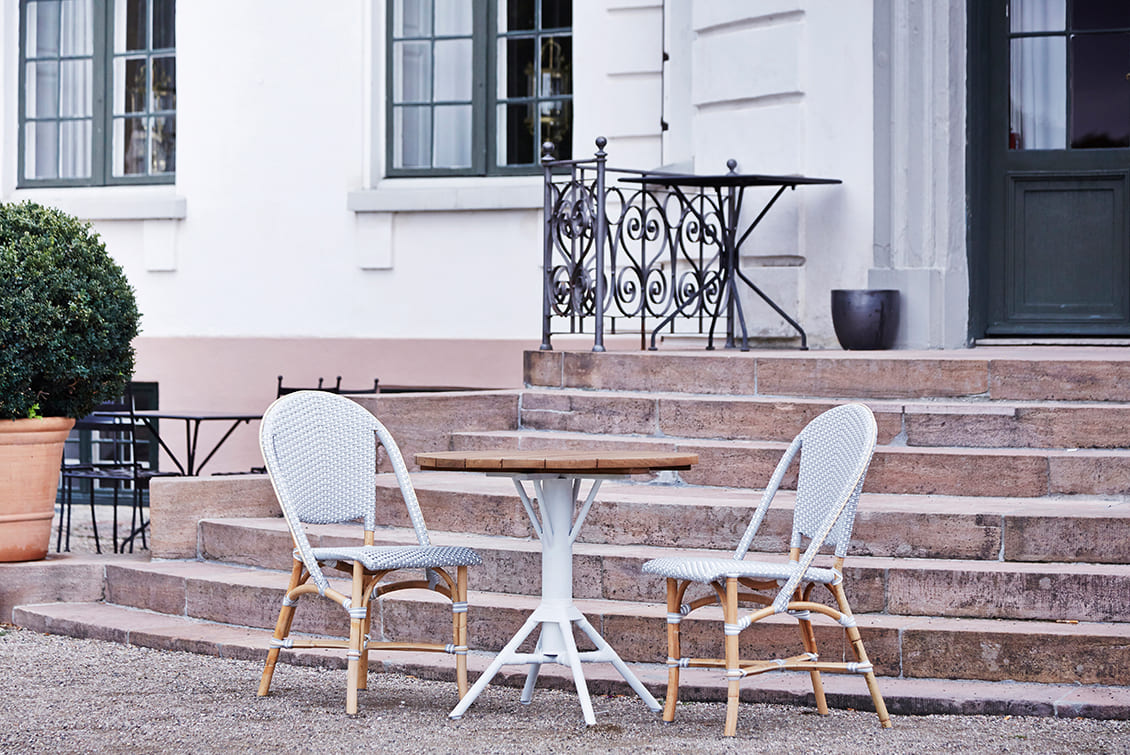 Table d'extérieur en teck - gasparinicollection.com
